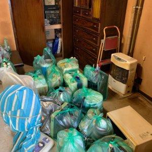 不用品回収の作業前写真