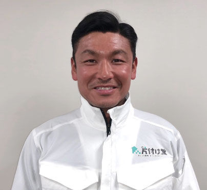川崎市の不用品回収の担当者の写真