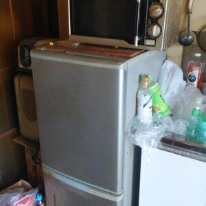 粗大ゴミ回収前の写真