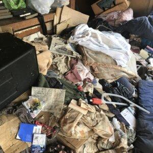 ゴミ屋敷の作業前の風景