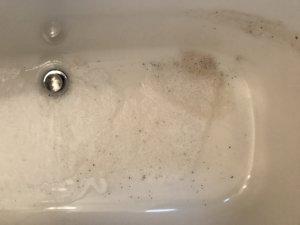 お風呂掃除の写真