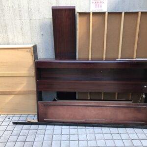 渋谷区ベッド解体粗大ごみ回収